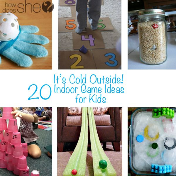 It S Cold Outside 20 Indoor Game Ideas For Kids Activities