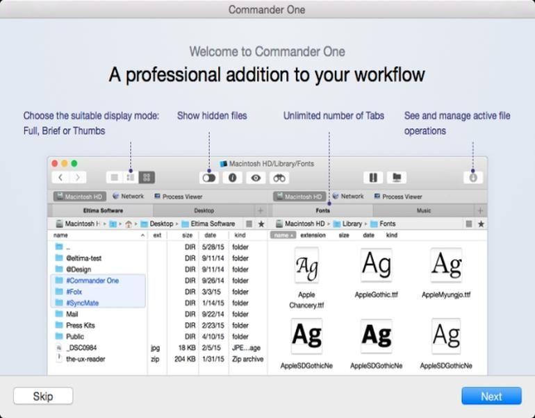 Commander One software marketing Pinterest Macs and Alternative