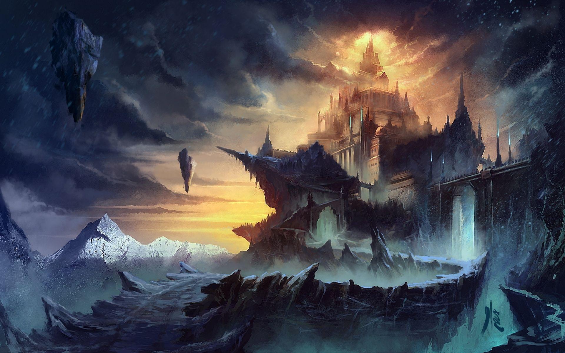 fantasy world artwork wallpapers - http://hdwallpapersf/fantasy