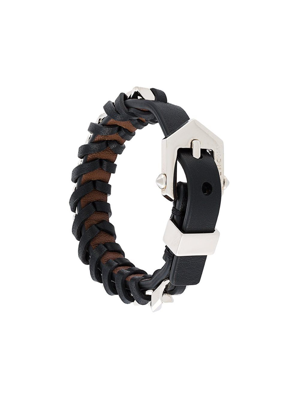 58e3218e0a3 Givenchy woven buckled bracelet