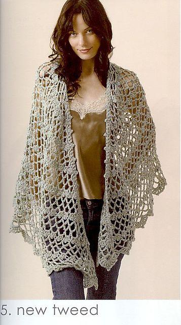 Crochet Shawl pattern by Doris Chan | shawls | Pinterest | Häkeln