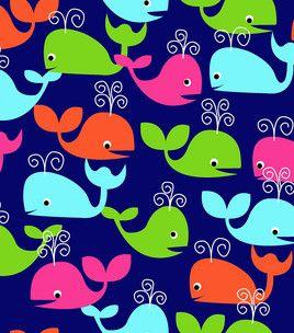 Anti Pill Fleece Print- Whale Of A Tail: anti pill fleece: fleece fabric: fabric: Shop | Joann.com