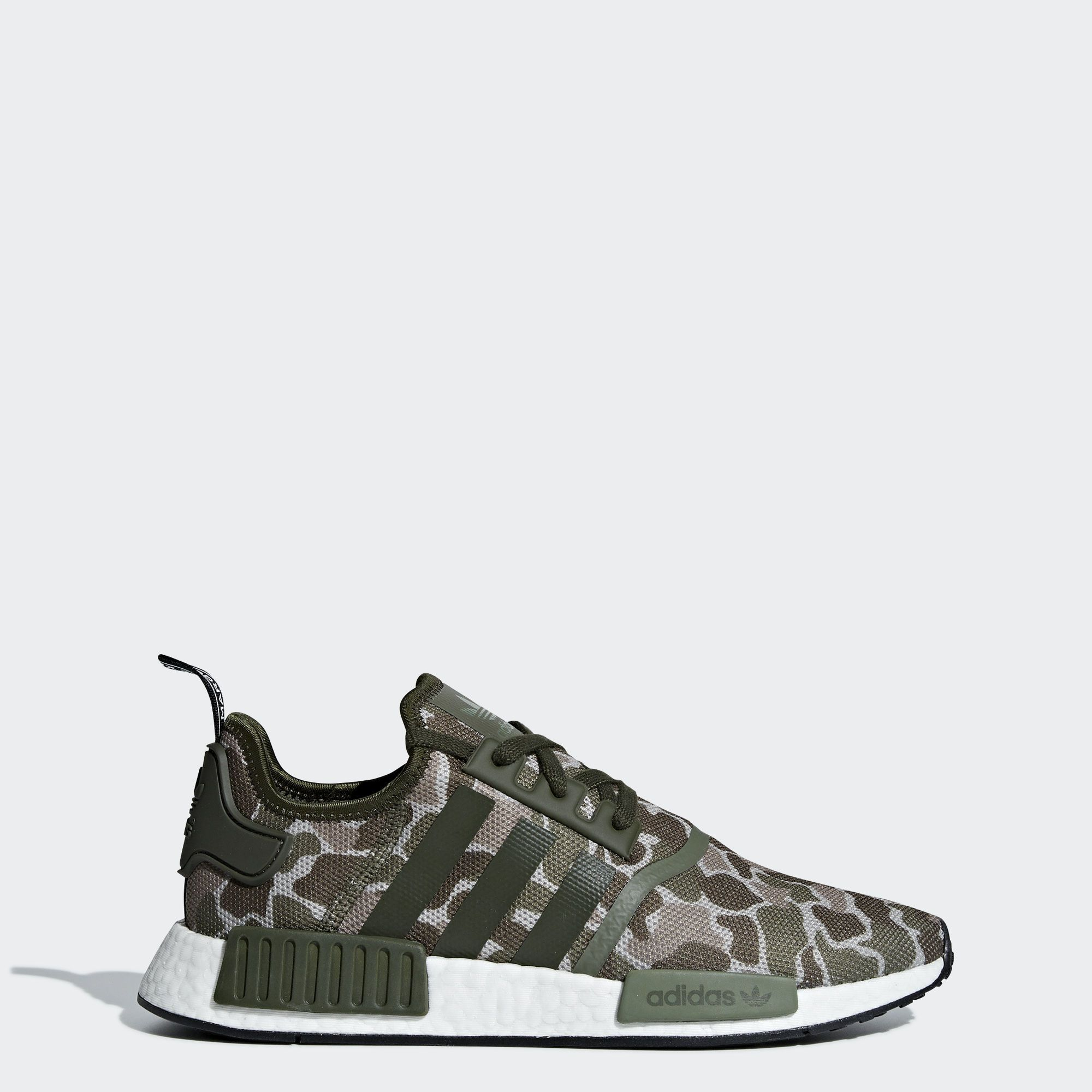 Adidas NMD_R1 Neon Detailed Sneakers Farfetch