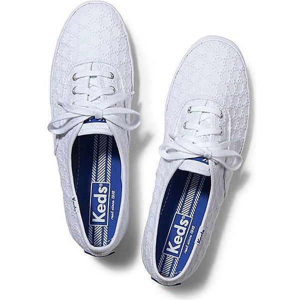 e63c6d09069d Keds Champion Eyelet ( 50) ❤ liked on Polyvore featuring shoes ...
