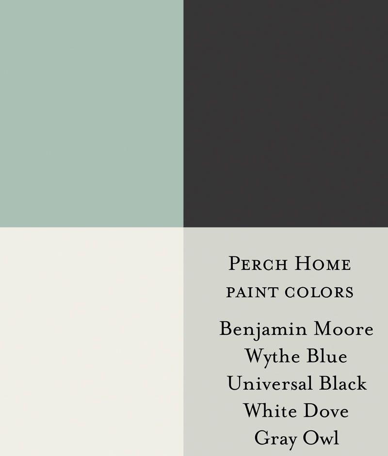 Benjamin Moore Wythe Blue Benjamin Moore Universal Black