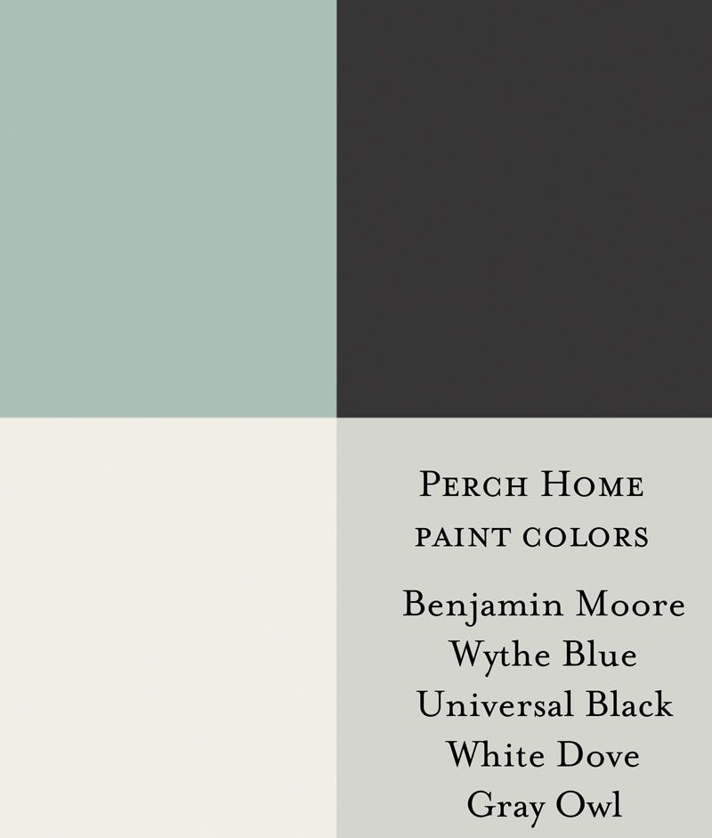 Benjamin Moore Wythe Blue Benjamin Moore Universal Black Benjamin