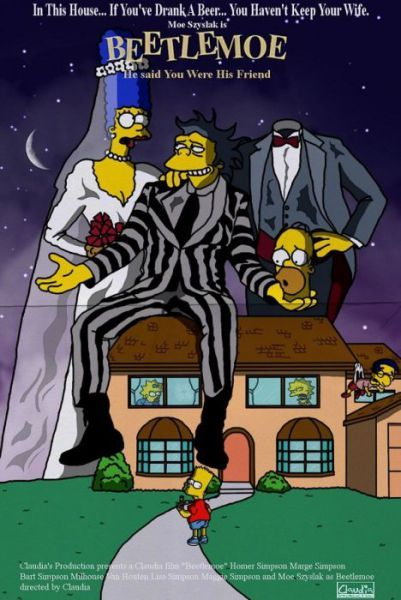 The Simpsons In Different Movies The Simpsons Movie Simpsons Characters The Simpsons