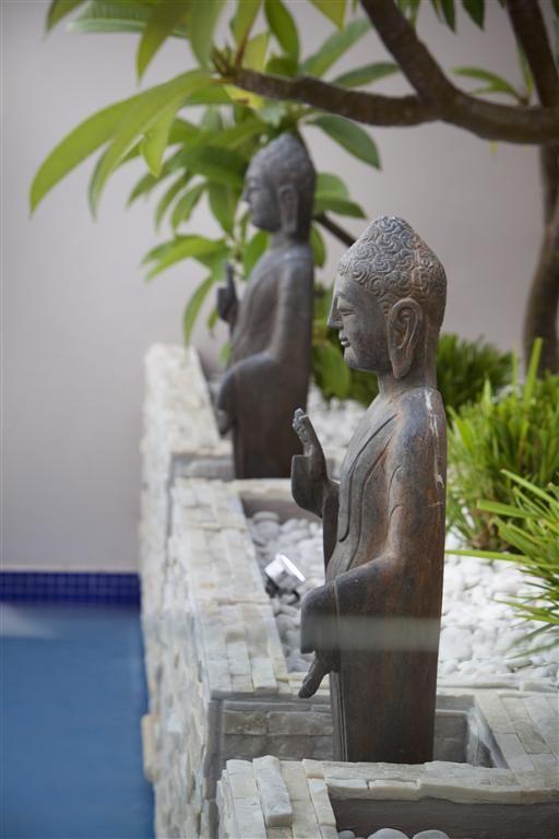 Suburban Sanctuary Buddha Dekoration Haus Und Garten Buddha