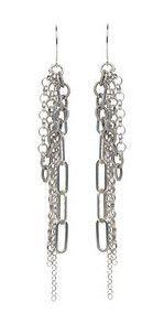 Chain Earrings by Femme Metale