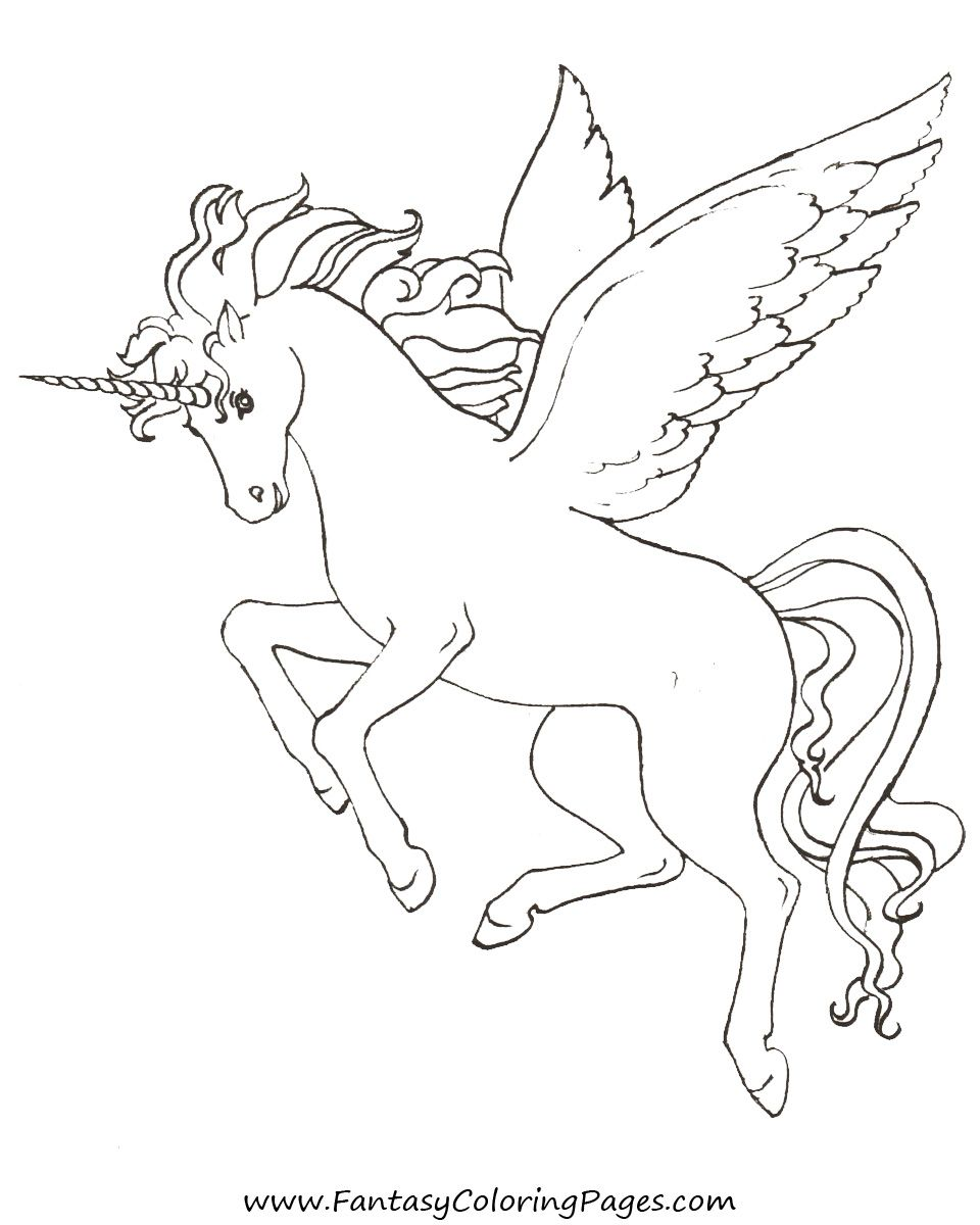 Free Coloring Pages Pegasus And Unicorns Unicorn Coloring Pages Horse Coloring Pages Free Coloring Pages
