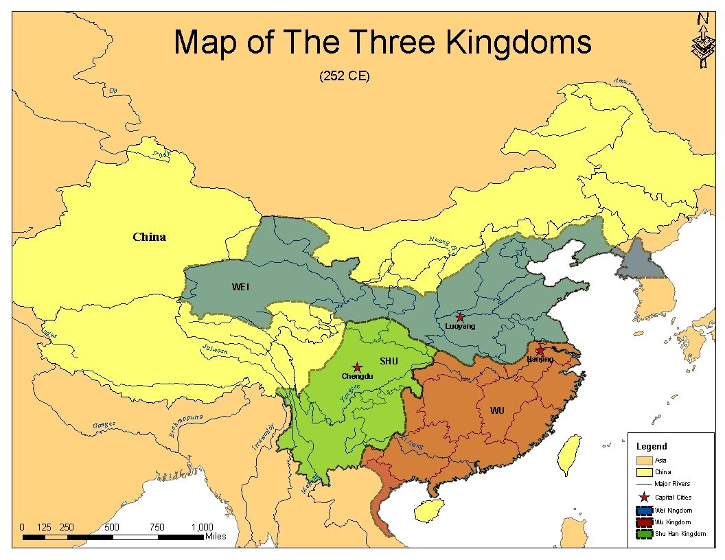 The Three Kingdoms One Of The Most Romanticized Eras Of