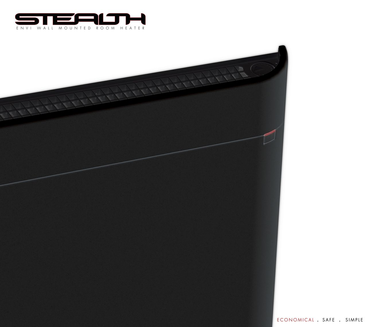 The Stealth Envi Wall Mounted Heater Wall mount Walls and Room
