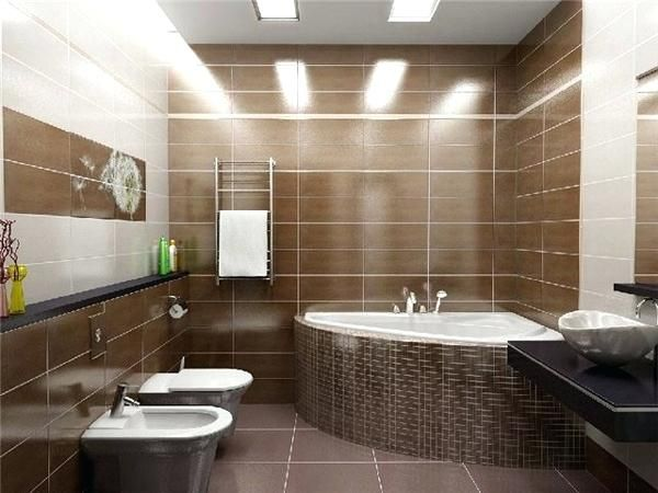 image result for brown and cream bathroom  bathroom tile