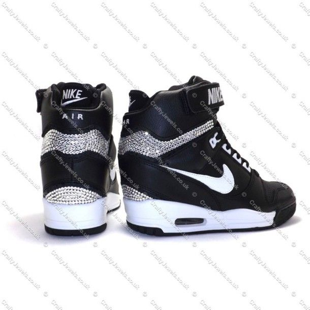 huge discount 1d9e6 a2157 Trop belle Nike Sky Hi, Sock Shoes, Cute Shoes, Shoe Boots, Wedge