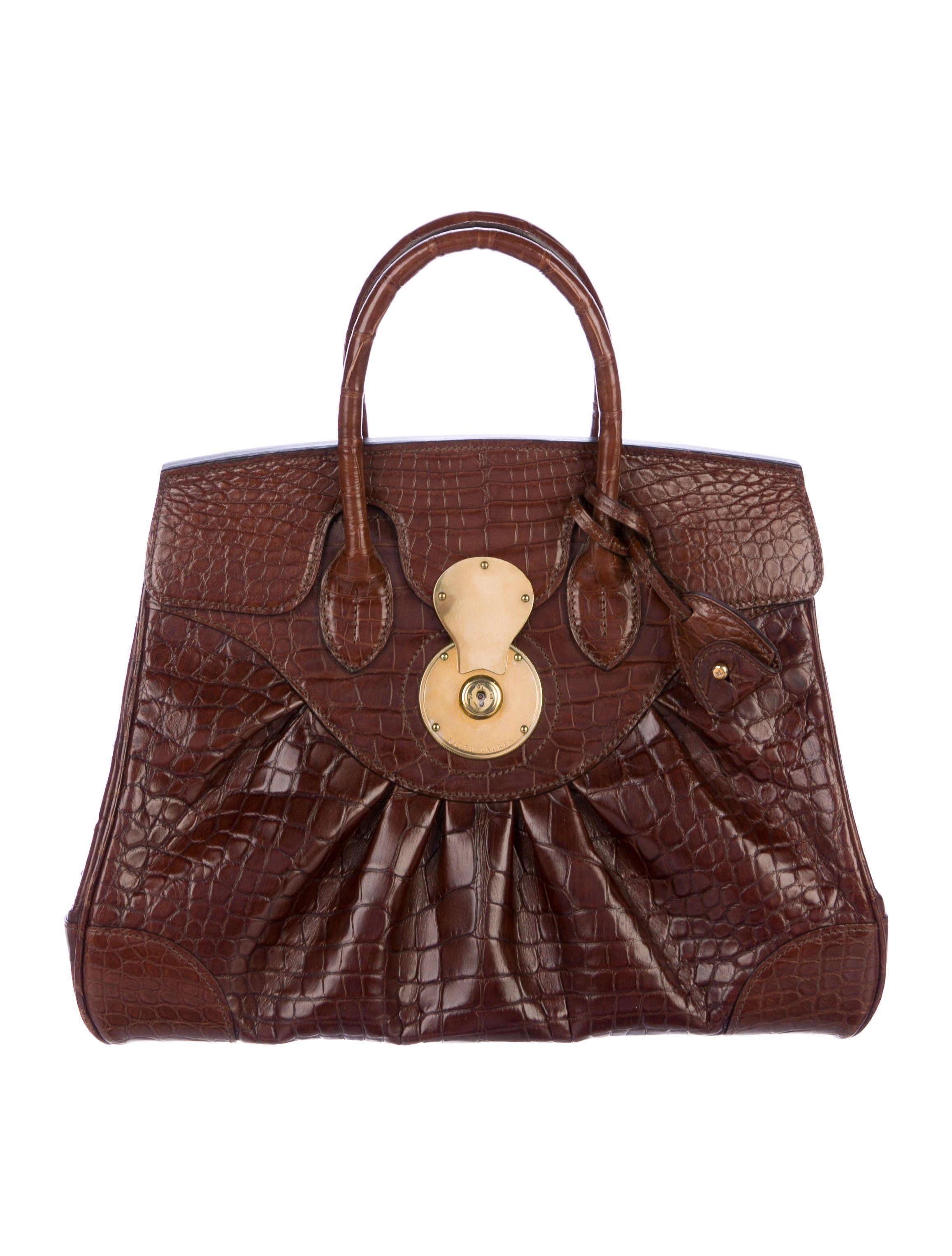 217a4f86a56a ... sweden luxury online shopping ralph lauren alligator ricky bag 2f3b1  b776d
