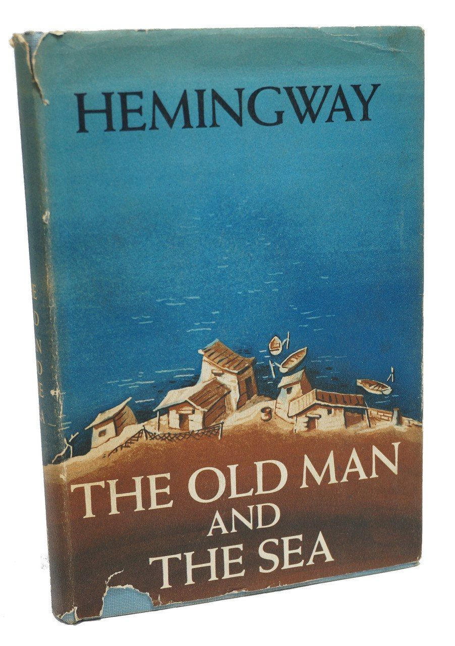 Ernest hemingway first edition the old man and the sea