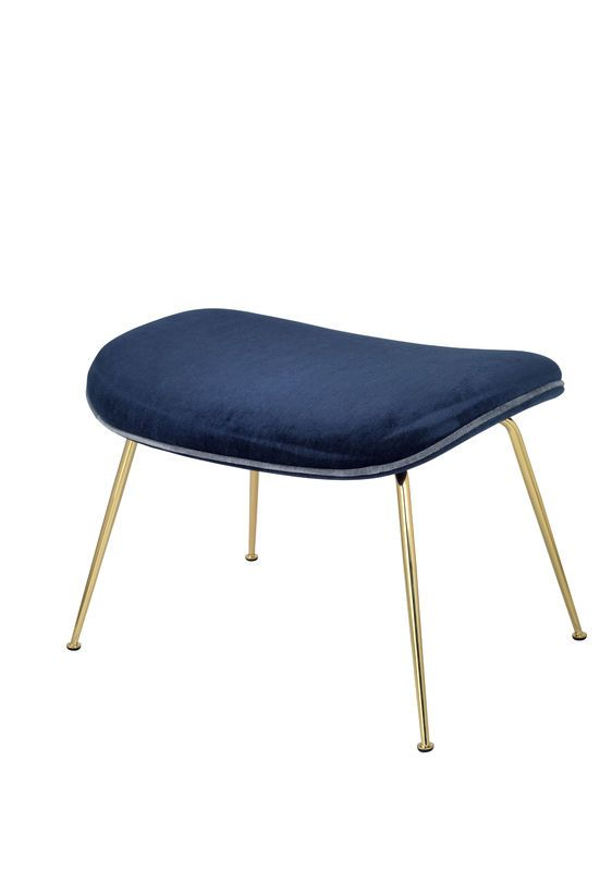 GUBI // GamFratesi Beetle Lounge Chair Footstool