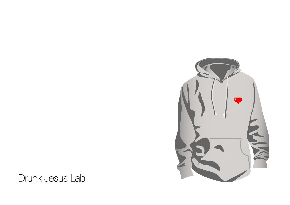 Heart Hoodie  skype for order: drunkjesuslab