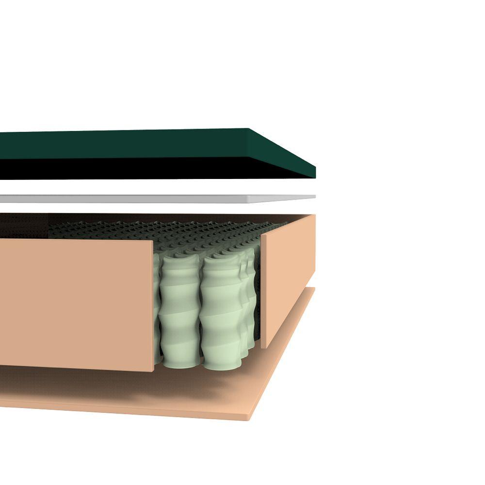 Cooling Gel Memory Foam Icoil Hybrid Queen Mattress Gel Memory