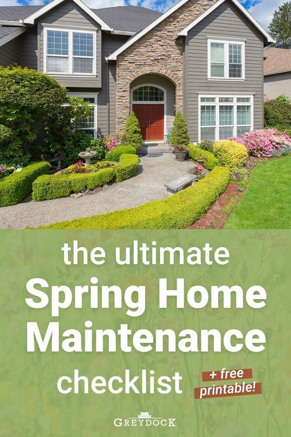 Photo of Die ultimative Checkliste für die Wartung von Spring Home (+ KOSTENLOS zum Ausdrucken)