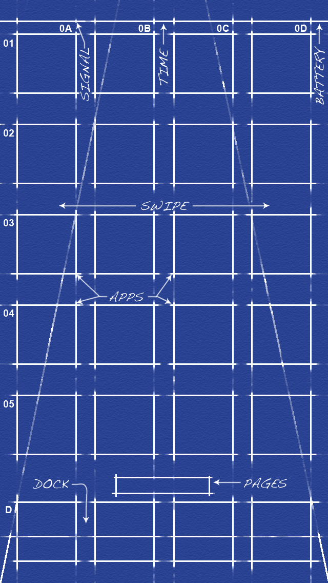 Blueprint For Iphone 5 By Mtnbiker D Customization Wallpaper Iphone Ipod Touch