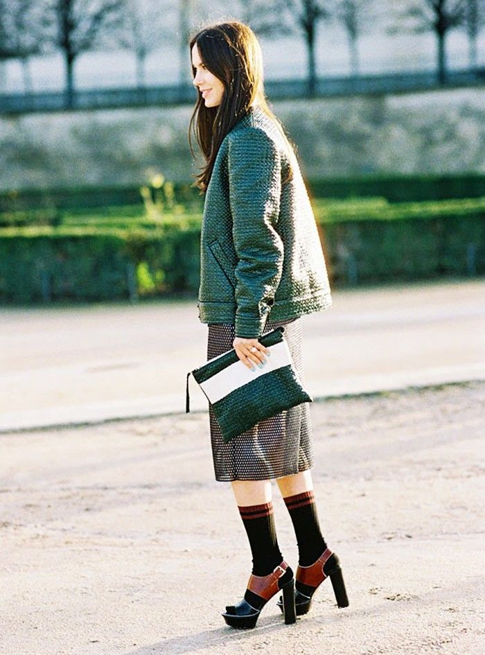 b71be2b64f28c The Right Way to Wear Socks With Open-Toe Shoes | Fashion Lady ...