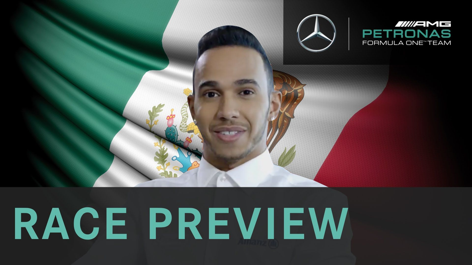 Lewis Hamilton 2015 Mexican Grand Prix F1 Preview with Allianz