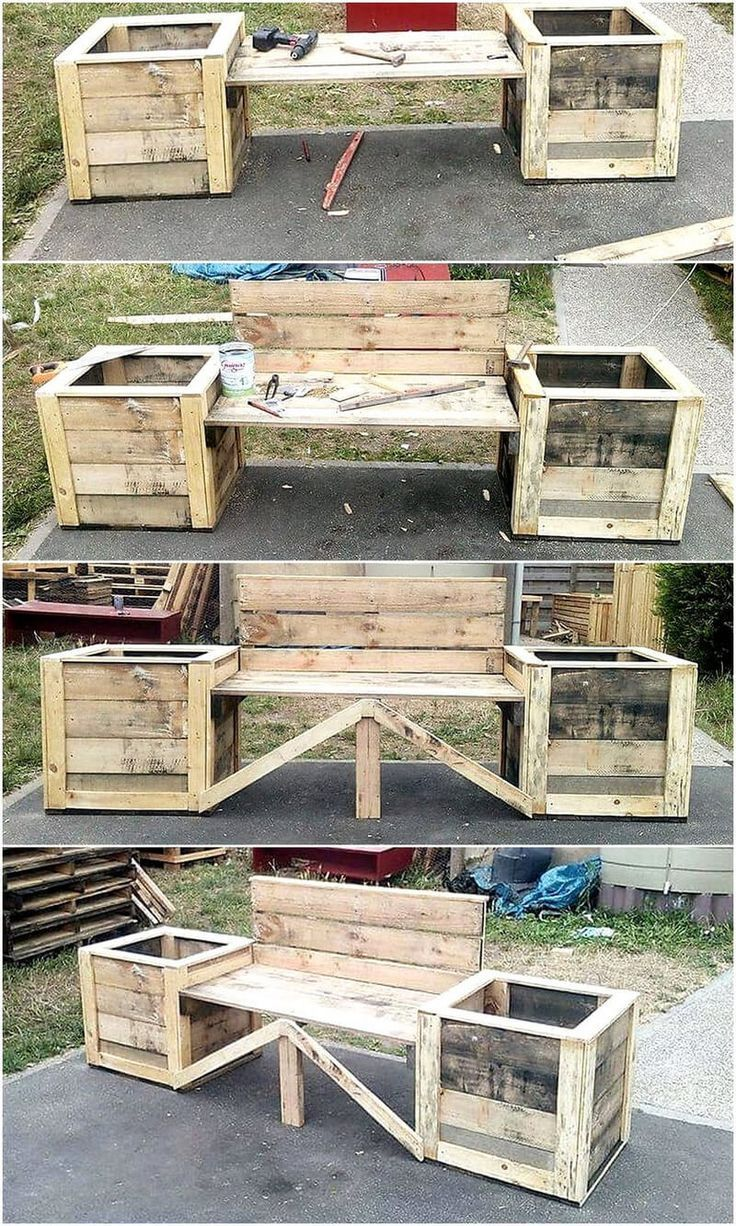 450+ Woodworking Pallet Projects For Beginners