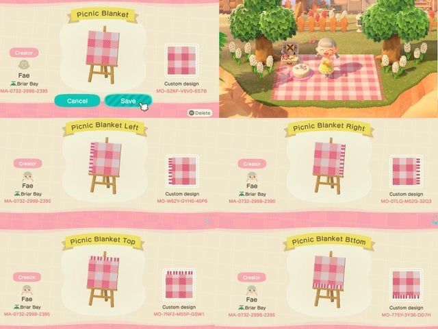Animal Crossing Picnic Blanket Yellow