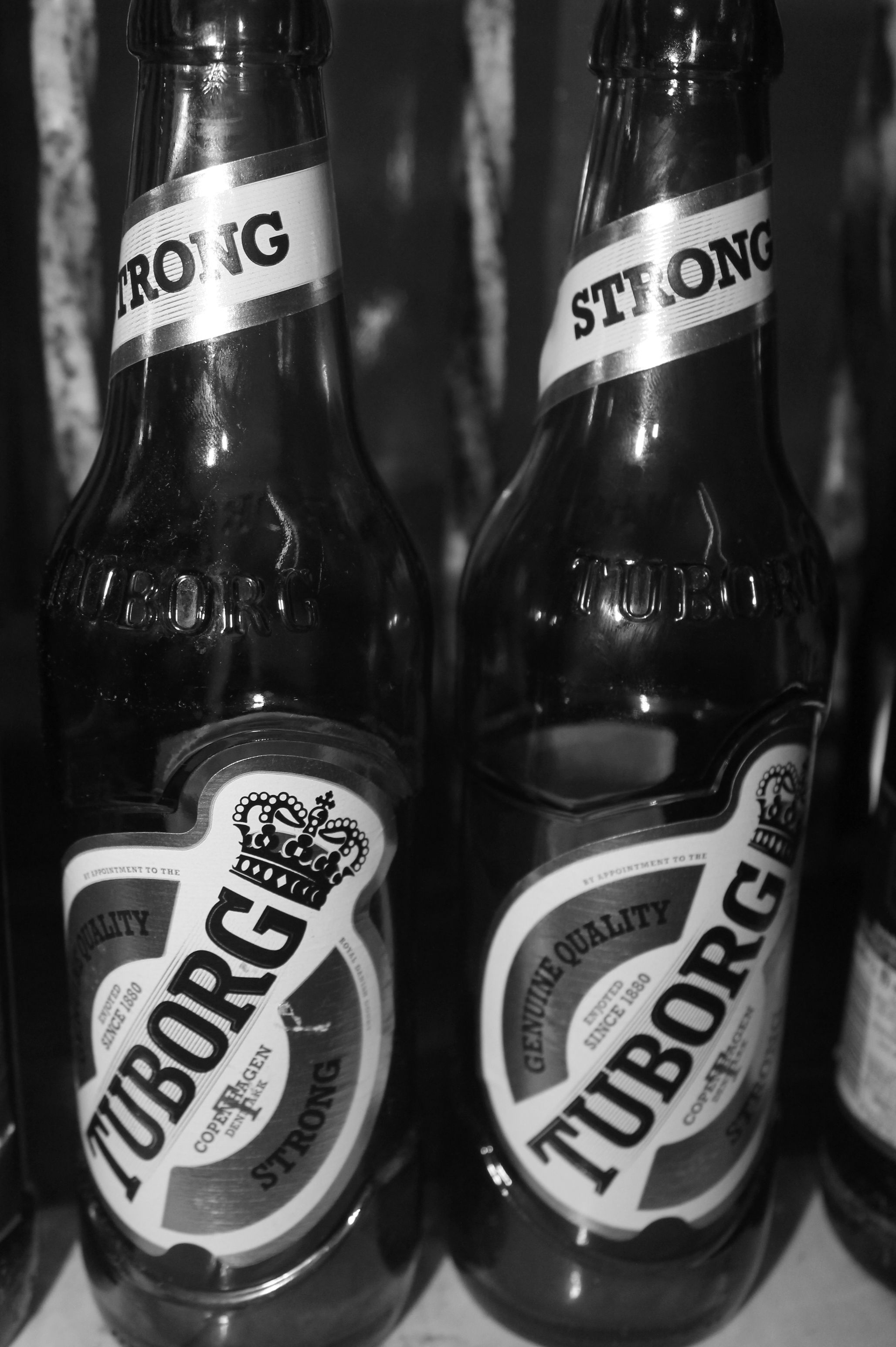 Without you my life would have been totally bitter, and sober. #Beer #Tuborg #Monochrome