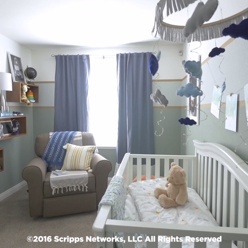 Baby Room Wall Décor Ideas Tips For Careful Parents: Create A Space-Themed Nusery