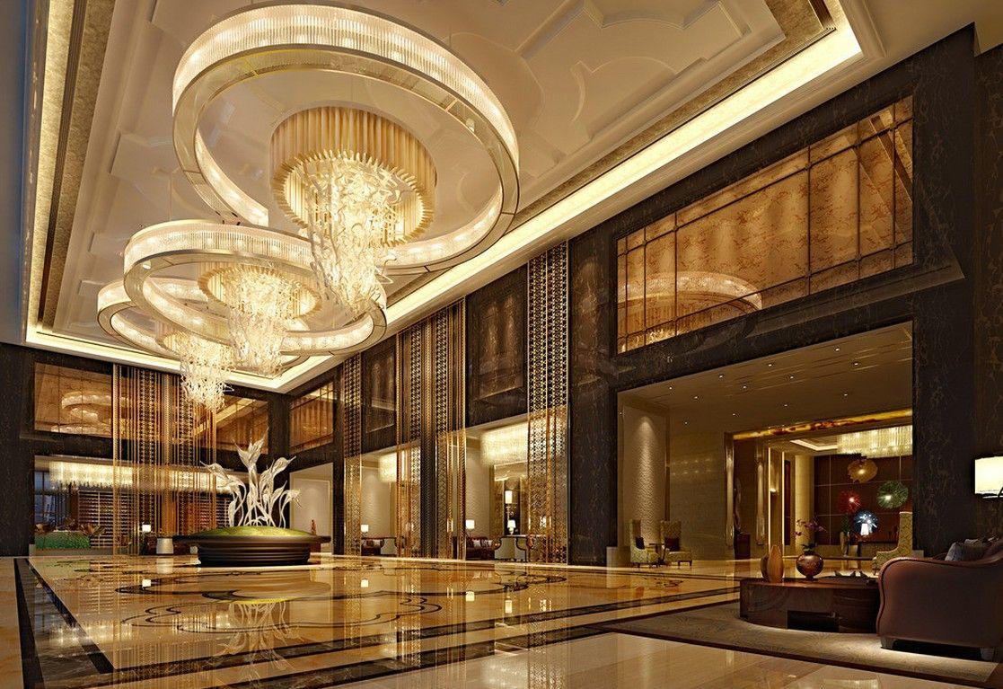 3d rendering luxury hotel lobby china luxury china hotel lobby - Hotel Lobby Google Search