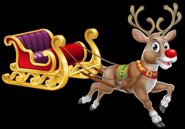 Traineau Noel Traîneau du Père Noël | Christmas cartoons, Christmas sleigh