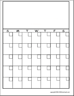 Calendar Template  Ideas For Kindergarten    Template