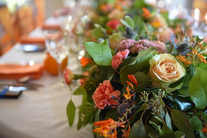 Orange Crush Styled Shoot Inspired by California { Sunshine twist on a fall wedding } fabmood.com #fallwedding #orangewedding