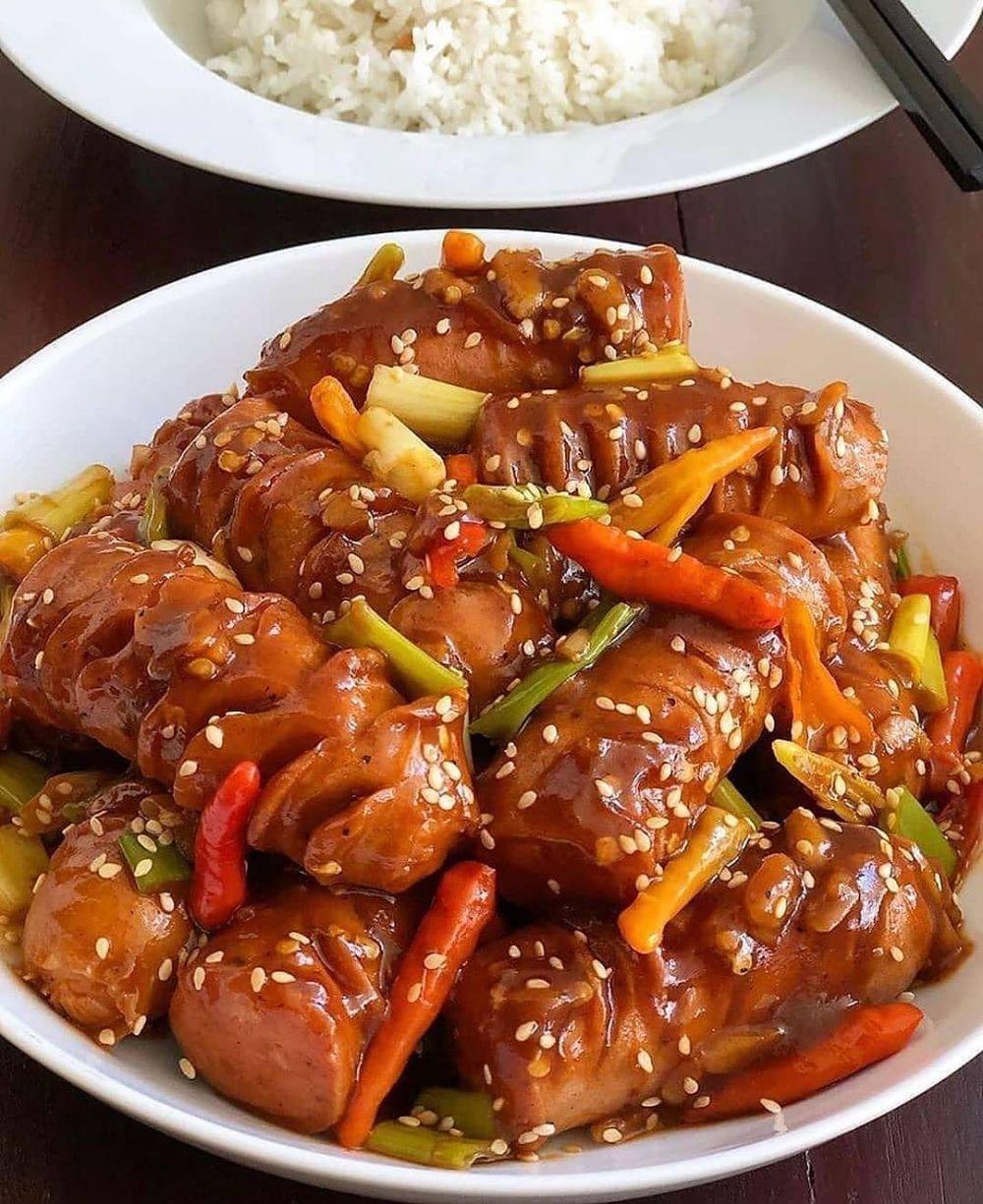Resep Masakan Saus Barbeque Instagram Resep Masakan Resep Sosis Resep