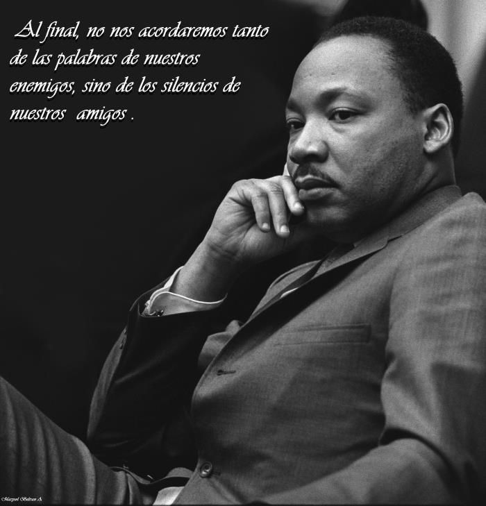 Frases De Martin Luther King Martin Luther King