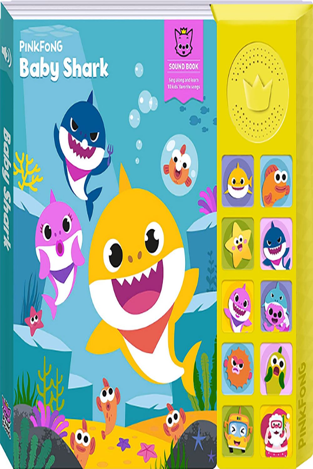 Pinkfong Baby Shark Official Sound Book Sound Book Baby Shark Song Baby Shark
