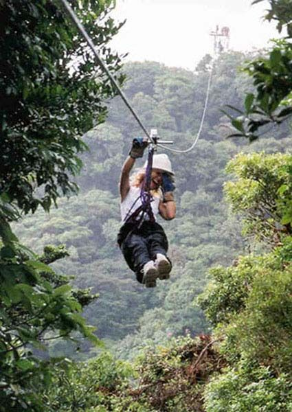 Zip Lining When You Are Afraid Of Heights