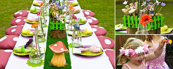 Enchanted Fairy Garden | Kiddies ideas | Pinterest | Girl birthday ...