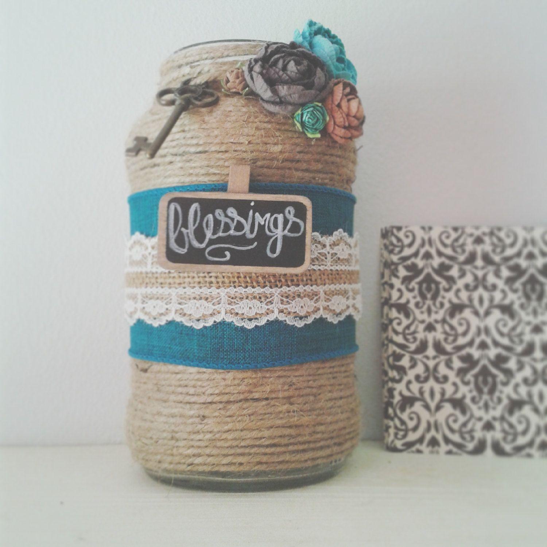Christian Gift, Religious Gift, Blessings Jar, Prayer Jar By 3Kids1Craftymomma