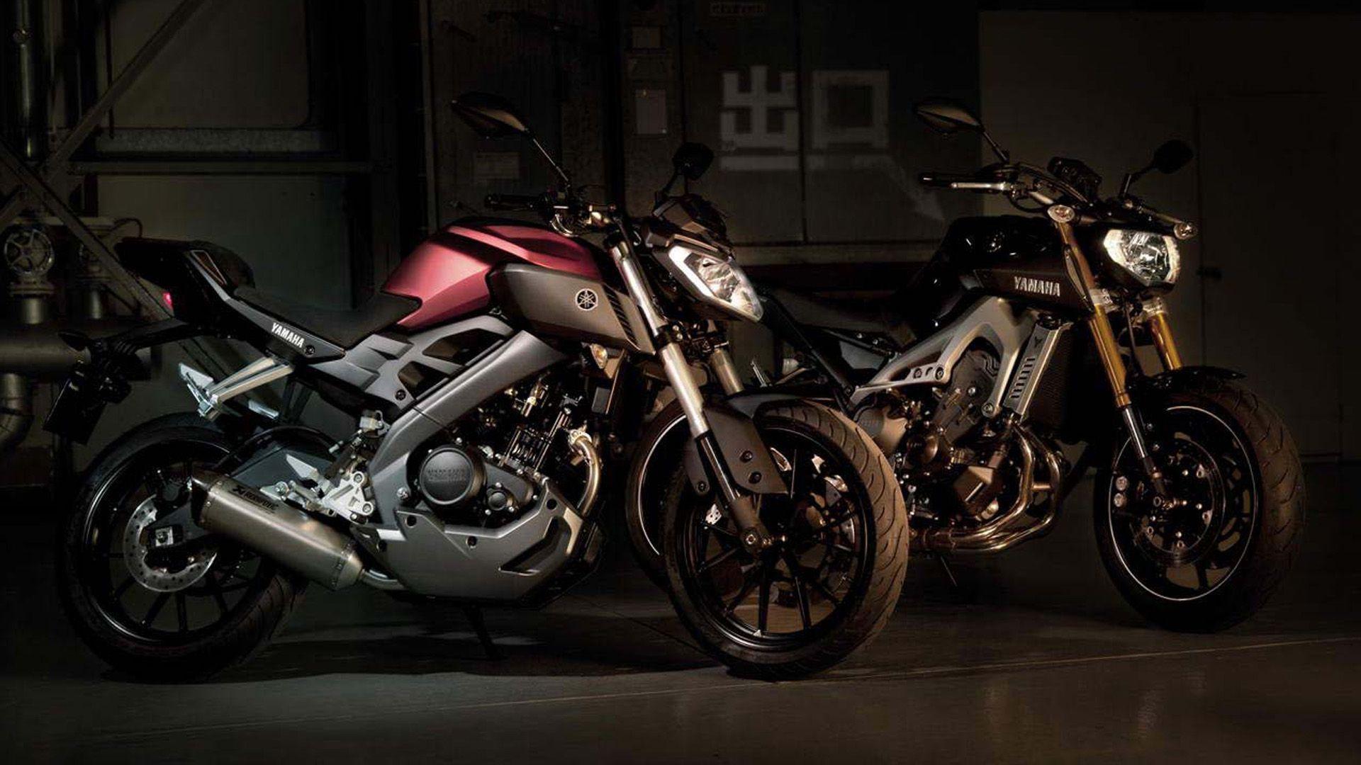 Yamaha Mt125 Red And Black Arabalar Motosikletler