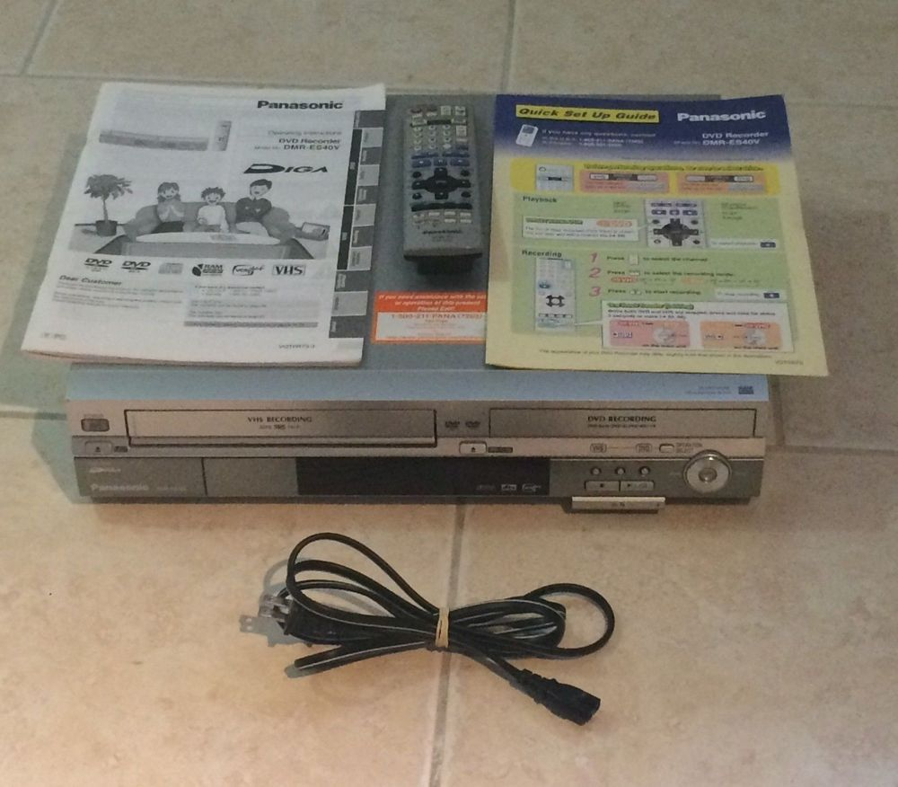 panasonic dvd vcr combo recorder model dmr es40v remote manual rh pinterest com au Panasonic DVD VHS Recorder Player panasonic dmr-es40v operating instructions