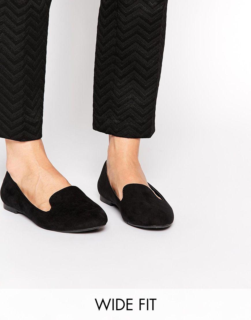 3f00a01e914 New Look Wide Fit Kookaburra Tab Flat Slipper Shoes