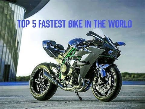 Top 5 Fastest Bike In The World 2017 Kawasaki