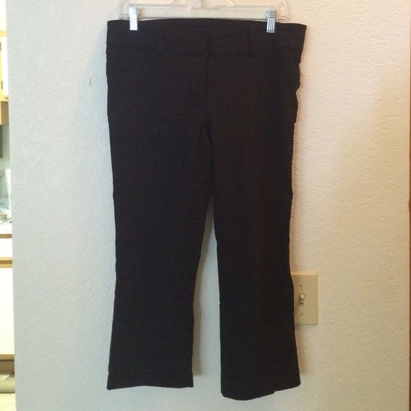 Final Markdown**Maurice's Black Dressy Capris | Capri, Pants and ...