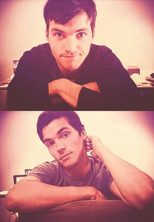 Ian Harding. I think I'll just sit here and stare at your face for a while.