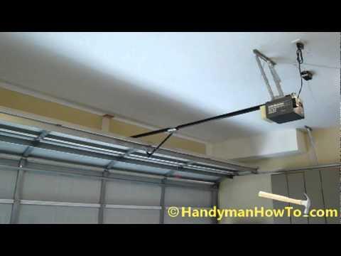Chamberlain Belt Drive Garage Door Opener Review 3 4 Hp Door Opener Installation Highlights And Video Demonstratio Garage Door Opener Garage Doors Door Opener