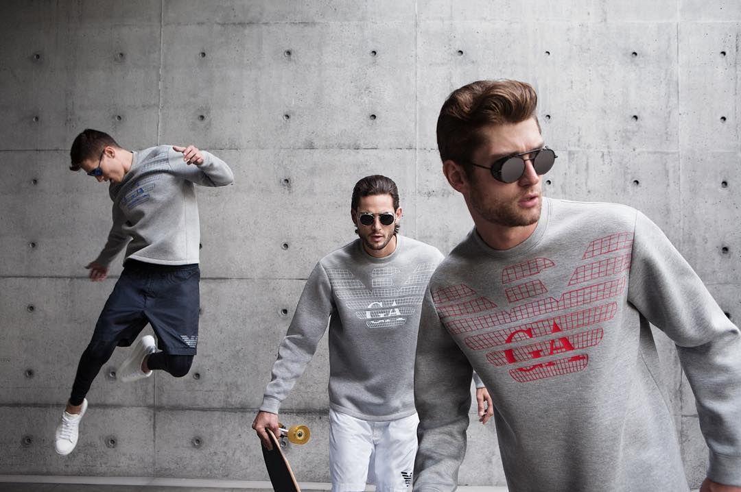 Exclusive preview of the  EmporioArmaniRemix men s capsule collection where  the urban spirit and active lifestyle. Armani StoreEmporio ... 97ea7e04eb
