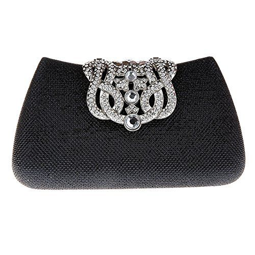 Fawziya Bling Glitter Purse For Girls Crown Box Clutch Evening BagsBlack    Read more reviews of the product by visiting the link on the image. a4fa4e1b01eb